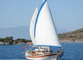 Rent a schooner in Bodrum Marina - Gulet Tifil