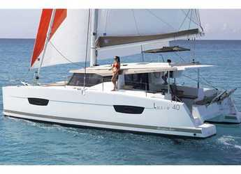 Rent a catamaran in Pula - Lucia 40 (4Cab)