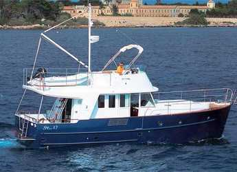 Rent a yacht in Marina Mandalina - Beneteau Swift Trawler 42