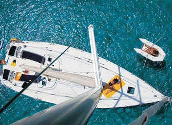 Rent a sailboat in Port Lavrion - Beneteau Cyclades 43.4 (4Cab)