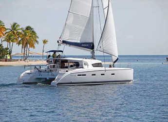 Rent a catamaran in Alimos Marina Kalamaki - Nautitech 441 (4Cab)