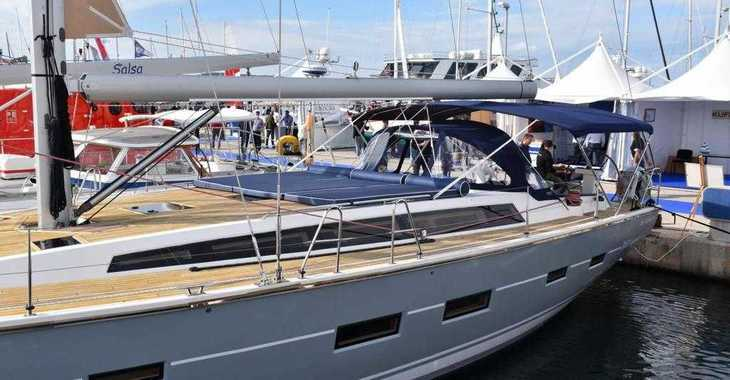 Rent a sailboat in Marina Kornati - D & D Kufner 54 (5Cab)