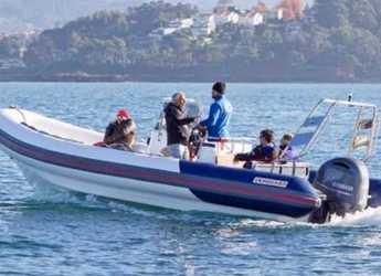 Rent a dinghy in Marina Botafoch - Vanguard DR-760F