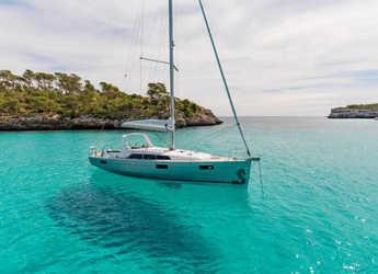 Chartern Sie segelboot in Alimos Marina Kalamaki - Oceanis 41.1