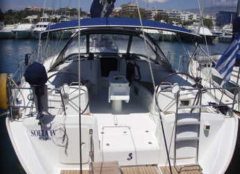 Rent a sailboat in Alimos Marina Kalamaki - Cyclades 50.5