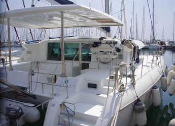 Rent a catamaran in Alimos Marina Kalamaki - Lagoon 420