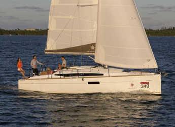Rent a sailboat in Marina Kastela - Sun Odyssey 349