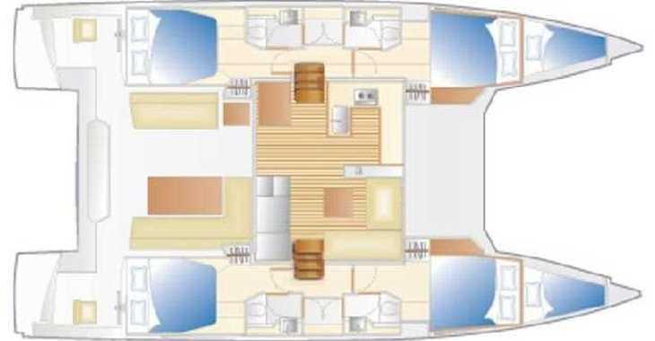 Chartern Sie katamaran in Marina di Scarlino - Nautitech 46 Fly