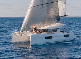 Chartern Sie katamaran in Marina di Portorosa - Lagoon 40 (4Cab)