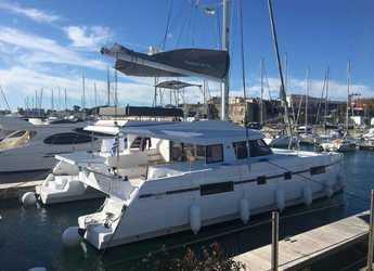 Chartern Sie katamaran in Marina Gouvia - Nautitech 46 Fly