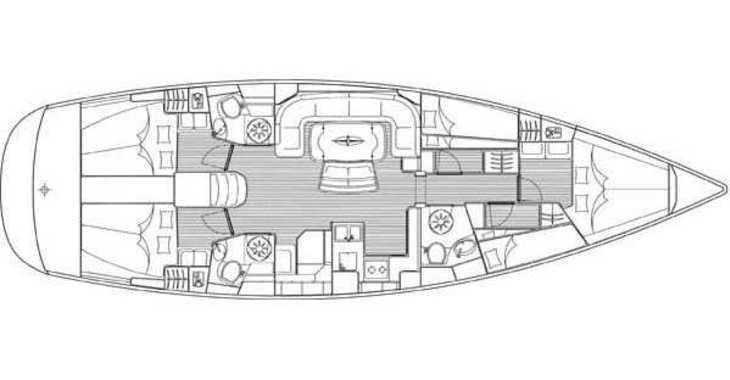 Rent a sailboat in Alimos Marina Kalamaki - Bavaria 50 (cabin charter)