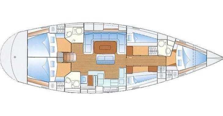 Rent a sailboat in Alimos Marina Kalamaki - Bavaria 50
