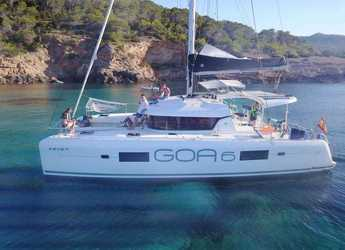 Rent a catamaran in Club Náutico Ibiza - Lagoon 42