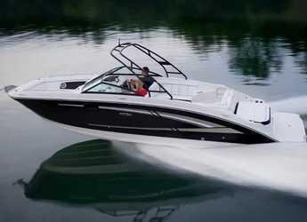 Rent a motorboat in Club Naútico de Sant Antoni de Pormany - Sea Ray 270
