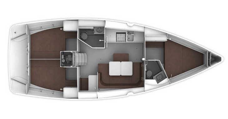 Rent a sailboat in Marina Lanzarote - Bavaria Cruiser 41