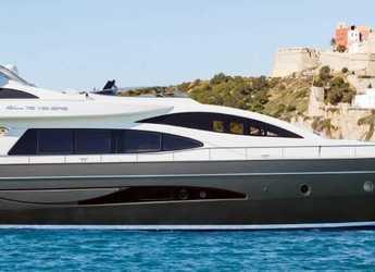 Louer yacht à Marina Botafoch - Riva Venere 75