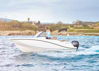 Chartern Sie motorboot in Port Mahon - Quicksilver 605 Sundeck