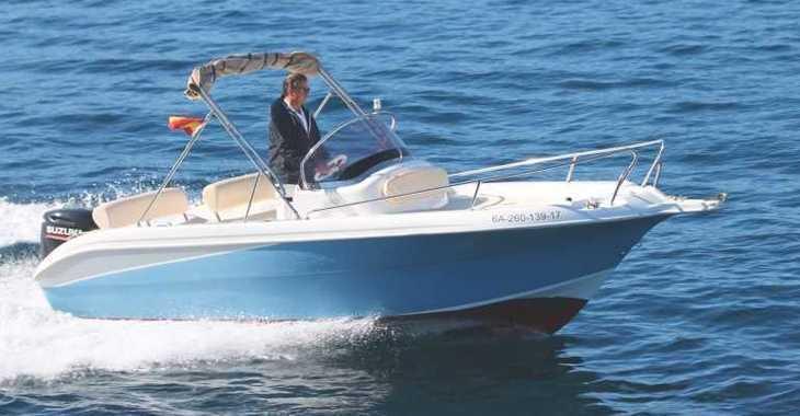 Louer bateau à moteur à Marina Porto Cristo - Janmor 580