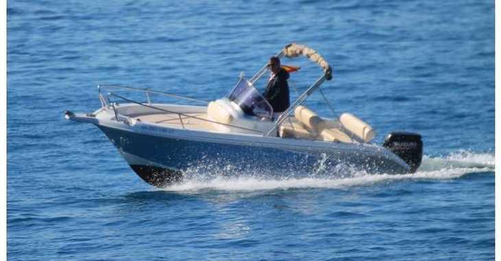 Chartern Sie motorboot in Marina Porto Cristo - Janmor 580