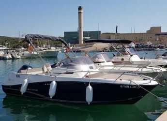 Rent a motorboat in Mahon - Jeanneau Cap Camarat 650WA