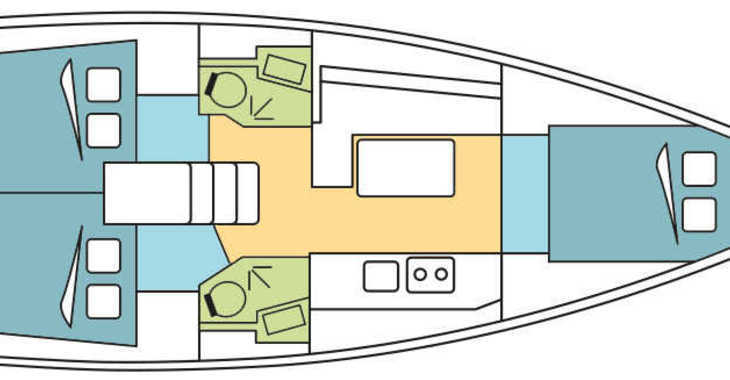 Alquilar velero Oceanis 38 en Marina di Portorosa, Portorosa