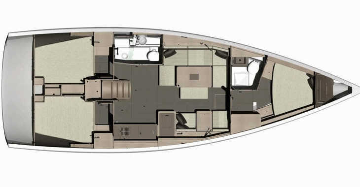 Rent a sailboat in Marina Port Royale - Dufour 412