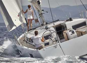 Rent a sailboat in Port Lavrion - Sun Odyssey 490 (5Cab)