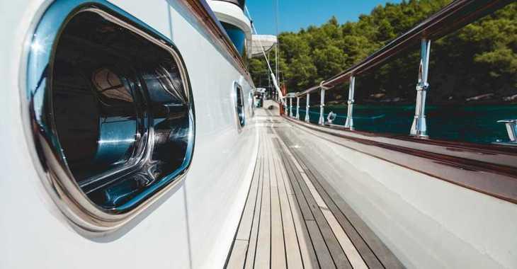 Rent a schooner in Split (ACI Marina) - Huzur Yacht 27