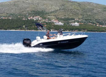 Rent a motorboat in SCT Marina Trogir - Fisher 17 Open Line