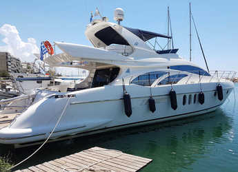 Rent a motorboat in Lefkas Nidri - Azimut 62 Evolution