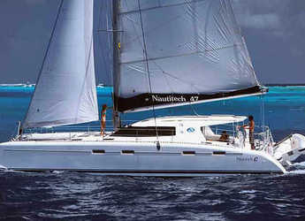 Rent a catamaran in Marina Gouvia - Nautitech 47