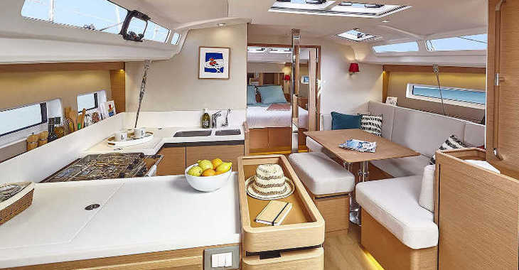 Rent a sailboat in Marina Skiathos  - Sun Odyssey 440