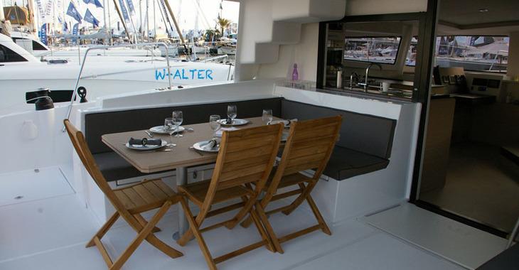 Alquilar catamarán Bali 4.5 en Marina Marlin, Cienfuegos