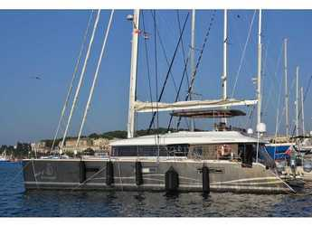 Rent a catamaran in Marine Pirovac - Lagoon 620