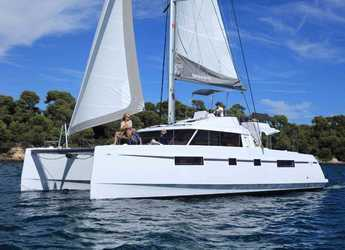 Rent a catamaran in Santorini - Nautitech 46 Fly