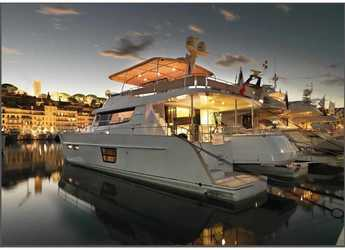 Rent a power catamaran in Marina Gouvia - Fountaine Pajot Queensland 55