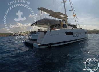 Rent a catamaran in Club Naútico de Sant Antoni de Pormany - Saona 47-Fountaine Pajot