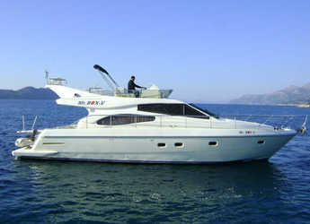 Rent a motorboat in Marina Baotić - Ferretti 480