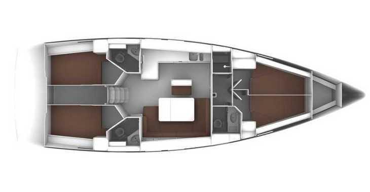 Rent a sailboat in Paros - Bavaria Cruiser 46