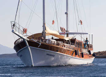 Rent a schooner in Lefkas Nidri - Gulet Hemera