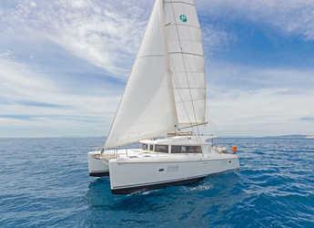 Rent a catamaran in Alimos Marina Kalamaki - Lagoon 421