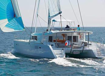 Rent a catamaran in Marina Port Royale - Lagoon 450