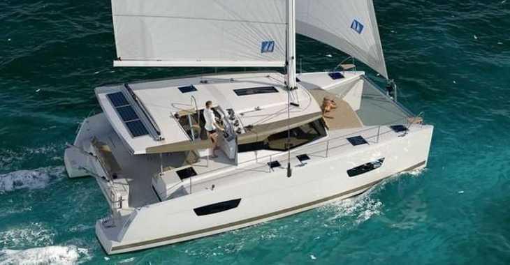 Rent a catamaran in ACI Marina Dubrovnik - Lucia 40