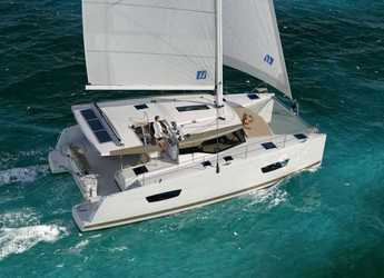 Rent a catamaran in ACI Marina Dubrovnik - Lucia 40