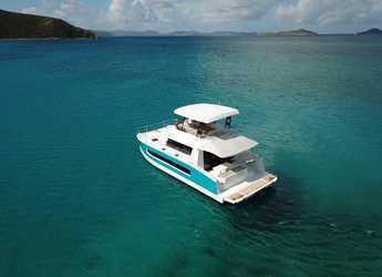 Rent a power catamaran  in Nanny Cay - MY 37