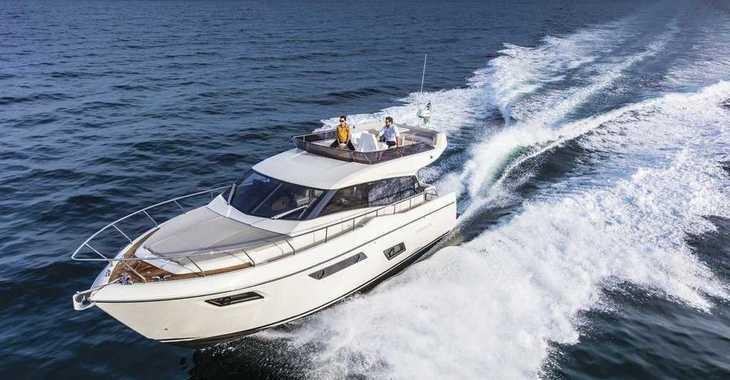 Rent a yacht in Marina Frapa - Ferretti 450