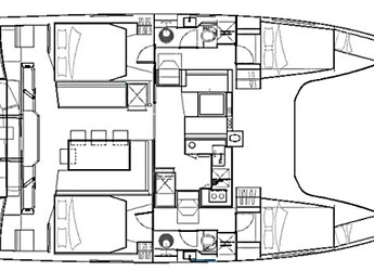Alquilar catamarán Nautitech Open 40 en Marina Marlin, Cienfuegos