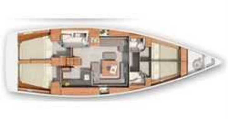 Rent a sailboat in Split (ACI Marina) - Hanse 455 (4Cab)