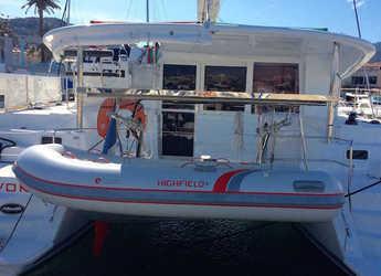 Chartern Sie katamaran in Port Tino Rossi - Lagoon 400 S2