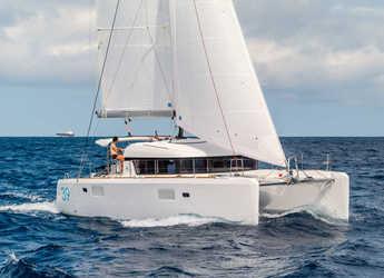 Chartern Sie katamaran in Port Tino Rossi - Lagoon 39